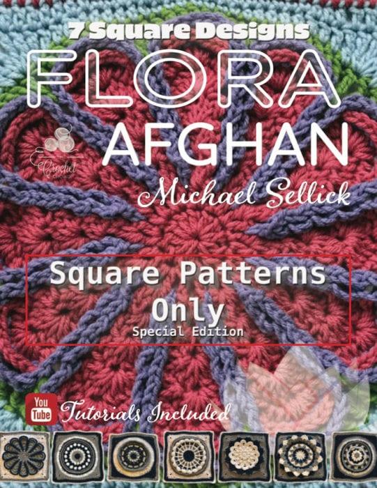 Crochet Flora Afghan - Just Patterns