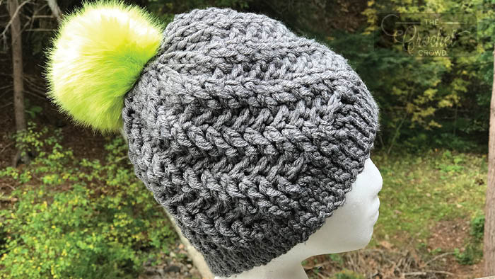 Heat Wave Stepping Hat Pattern