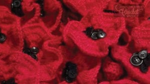 Remembrance Display, Leeds Greville Fibre Extravanganza
