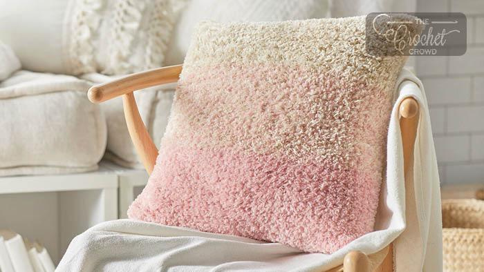 Crochet Restful Shades Pillow Pattern
