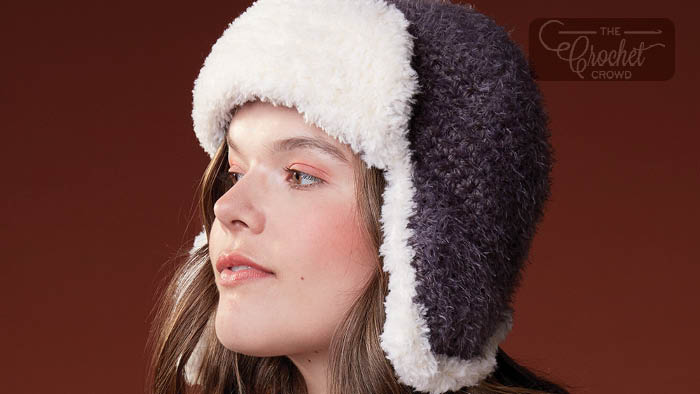 Crochet Trapper Hat Pattern
