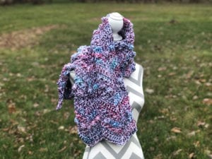 Crochet Hugs & Kisses Scarf
