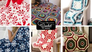 6 Challenging Christmas Crochet Blankets