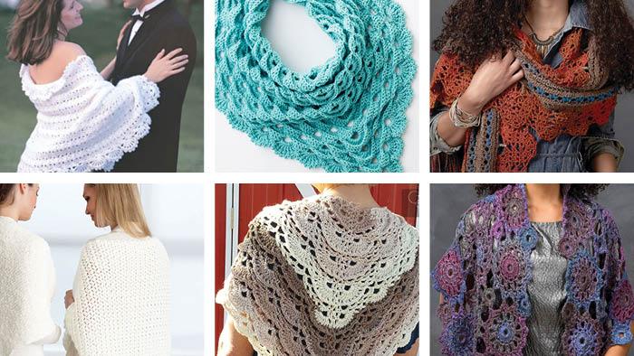 6 Terrific Crochet Shawls Patterns