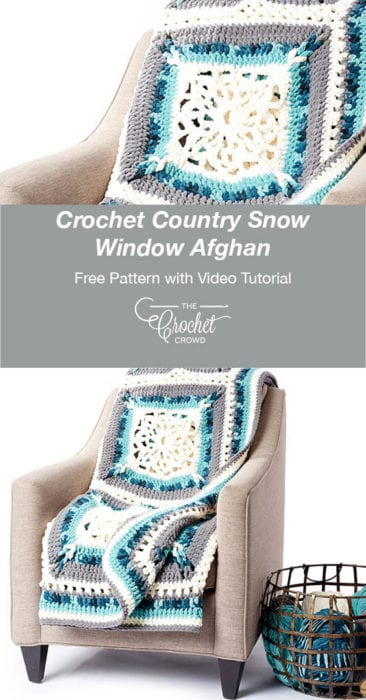 Crochet Country Snow Window