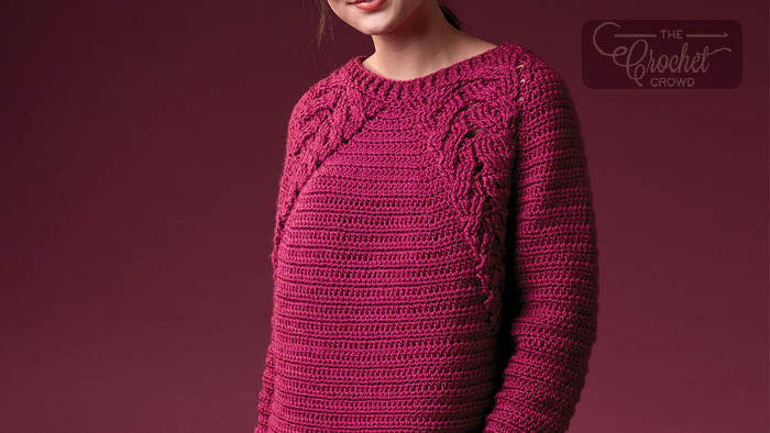 Crochet Branching Out Pullover Pattern