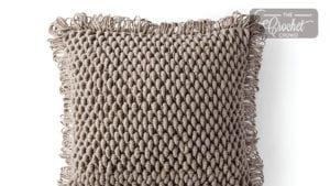 Crochet Bullion Pillow