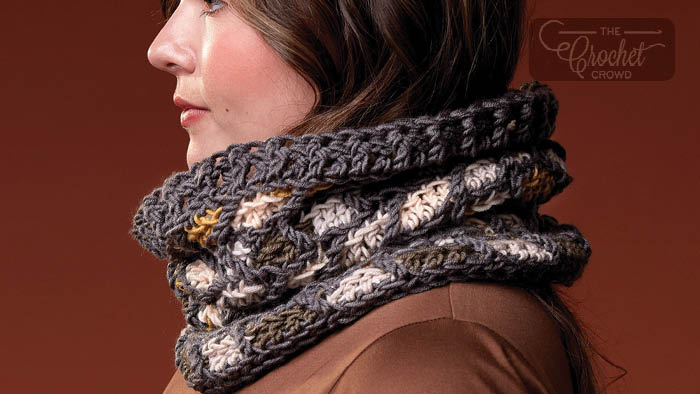 Comme Ci Comme Ca Cowl Pattern