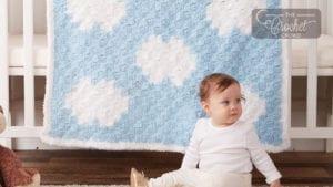 Crochet Dreamy Clouds C2C Blanket