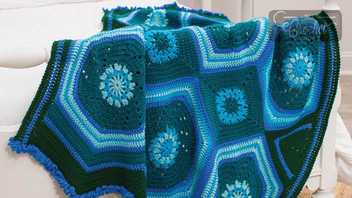 Crochet Moody Blues Blanket