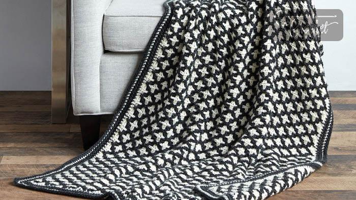 Crochet Reversible Afghan