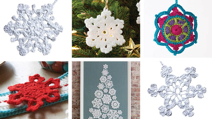 14 Crochet Snowflakes Patterns