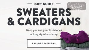 Crochet and Knit Sweaters and Cardigans Gift Guide