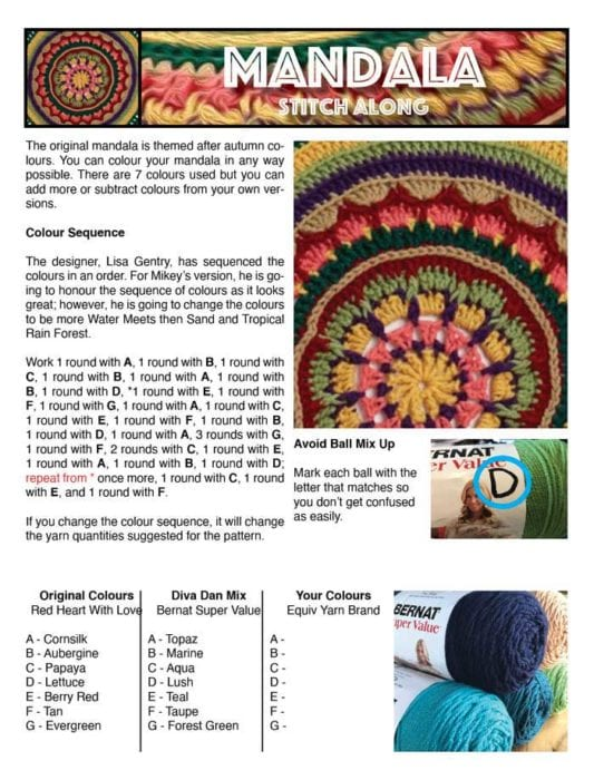 Mandala Worksheet
