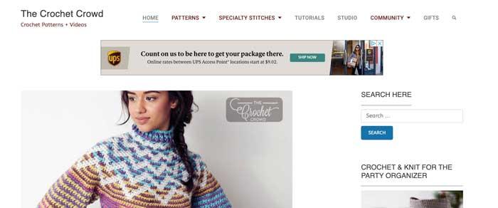 The Crochet Crowd Website