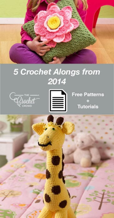 5 Crochet Alongs from 2014