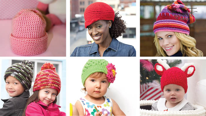 6 Winter Worthy Fun Crochet Hat Patterns