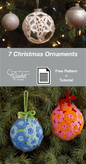 7 Crochet Christmas Ornaments