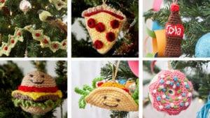 Crochet Christmas Tree Ornaments