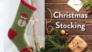 Crochet Classic Christmas Stocking