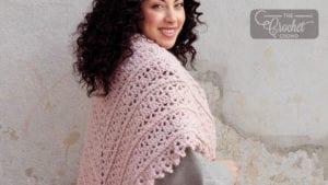 Crochet Filigree Shawl