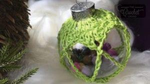 Crochet Gum Ball Ornament