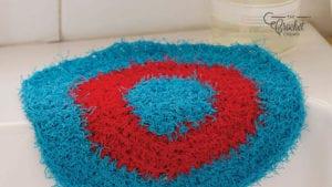 Crochet Hexagon Dishcloth
