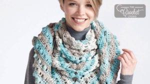 Crochet Make A Point Shawl