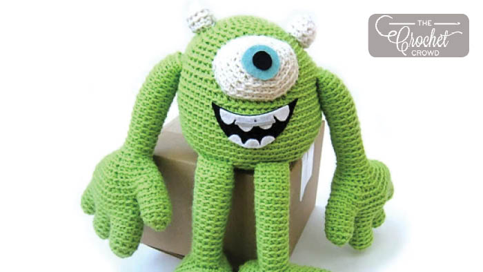 Crochet Mike The Monster by Disney
