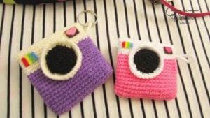 Crochet Polaroid Camera