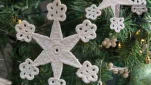 Crochet Delicate Snowflake