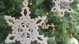 Crochet Snowflake 5