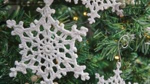 Crochet Snowflake 7