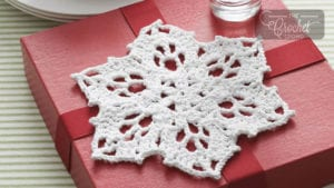 Crochet Snowflake Dishcloth