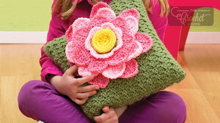 Crochet Along Spring Fling Pillow Pattern