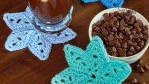 Crochet Star Coasters