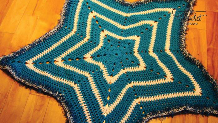 Crochet Super Star Blanket Blanket