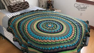 Mikey's Mandala On Bed