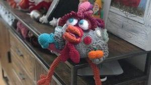 Mikey's Rooster Crochet Bird