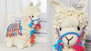 No Drama Crochet Llama