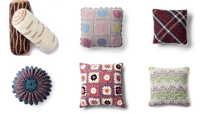 6 Unique Crochet Pillow Patterns