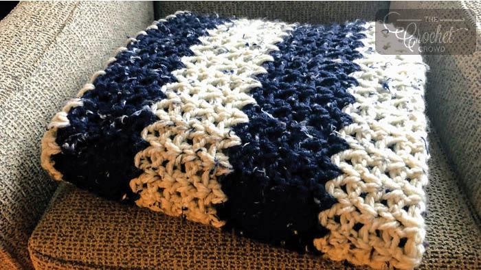 Crocheting A Blanket With Chunky Yarn