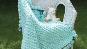 Crochet Crocodile Stitch Blanket