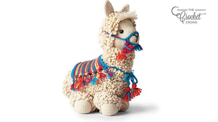 Crochet Llama-No-Drama Stitch Along Pattern