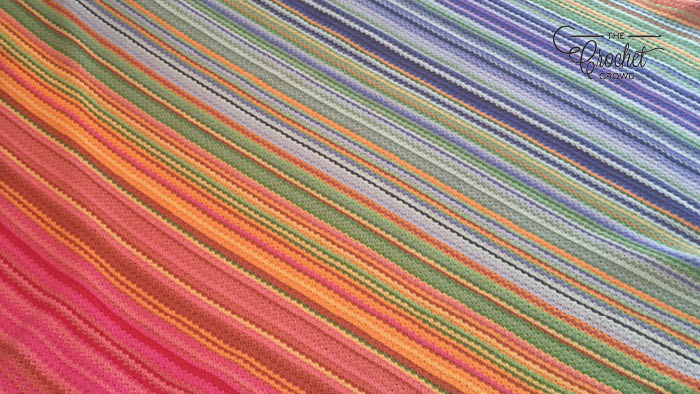 Crochet Temperature Afghan - Kristen