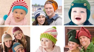 Crochet Winter Hat Collection