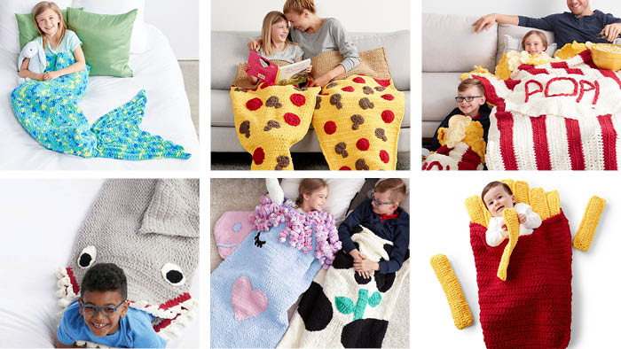 15 Crochet Snuggle Sacks Collection