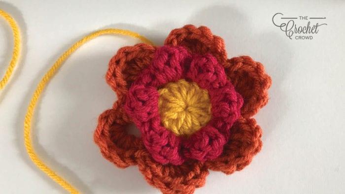 X Marks Spot Afghan Crochet Flower