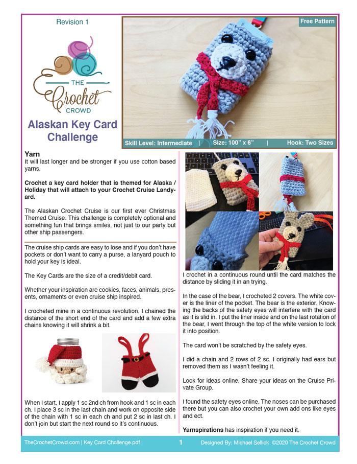 Alaskan Key Card Challenge