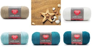 Beach Inspired Colour Yarn Combo
